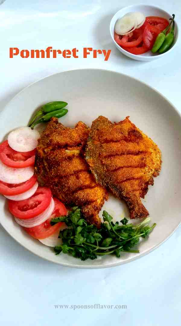 How to make pomfret fish fry