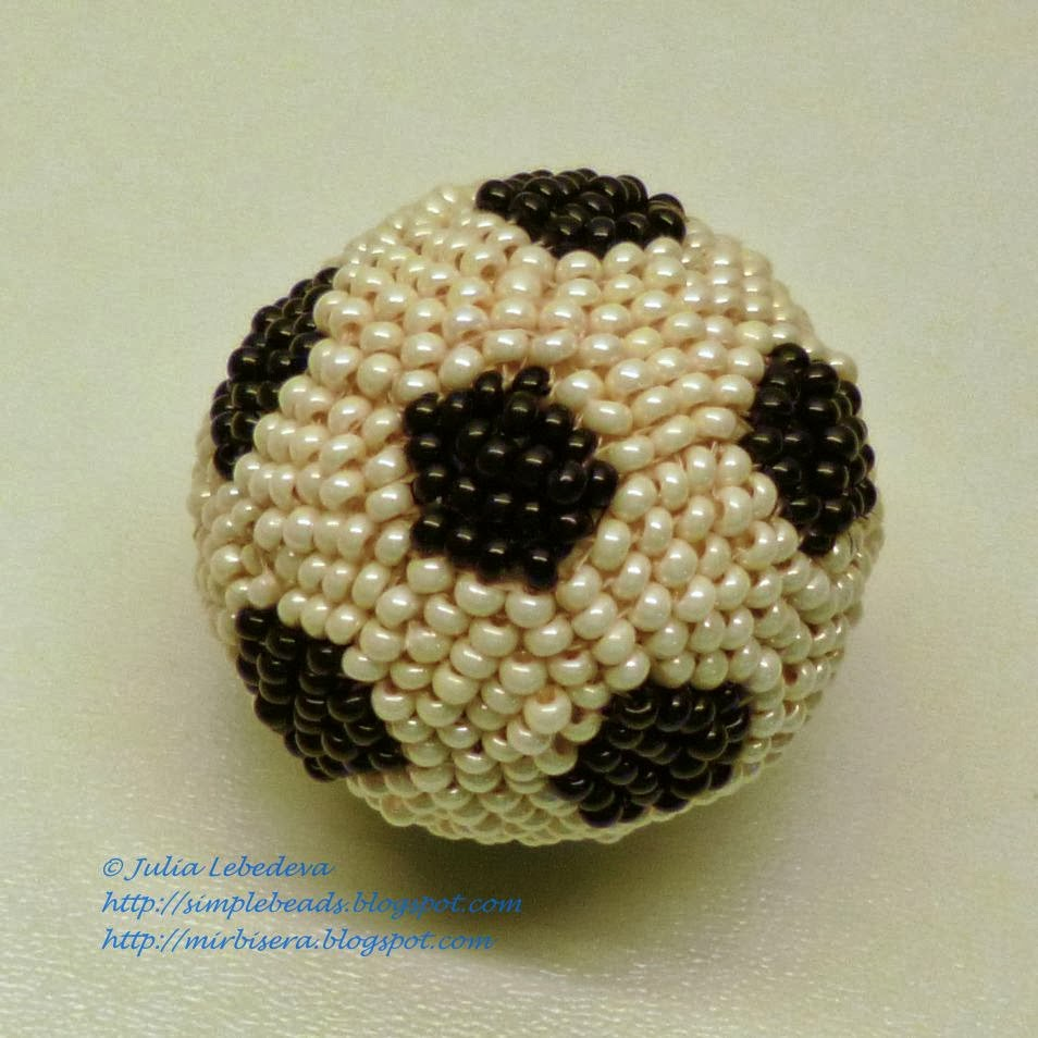 beading for the beginners a football soccer