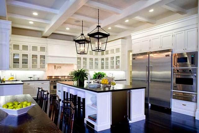 Home Interior Gallery: Antique White Kitchen Cabinet ...