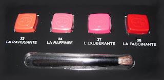 Chanel Rouge Allure Velvet (vs. Manhattan Soft Mat Lipcream)