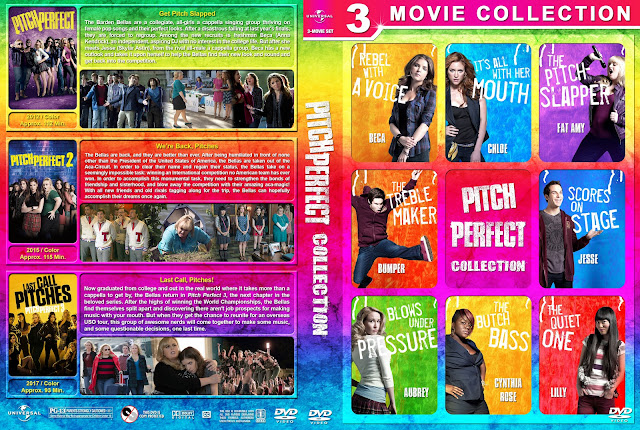 Pitch Perfect Collection DVD Cover