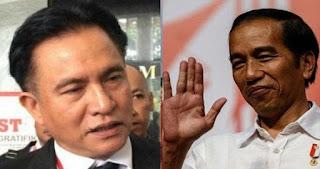 Yusril : Jangan Bilang Yusril Jadi Lawyer-nya Pak Jokowi Jadi Cebong