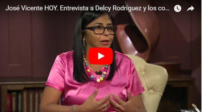 Delcy la Fea : Venezuela es casi una potencia mundial