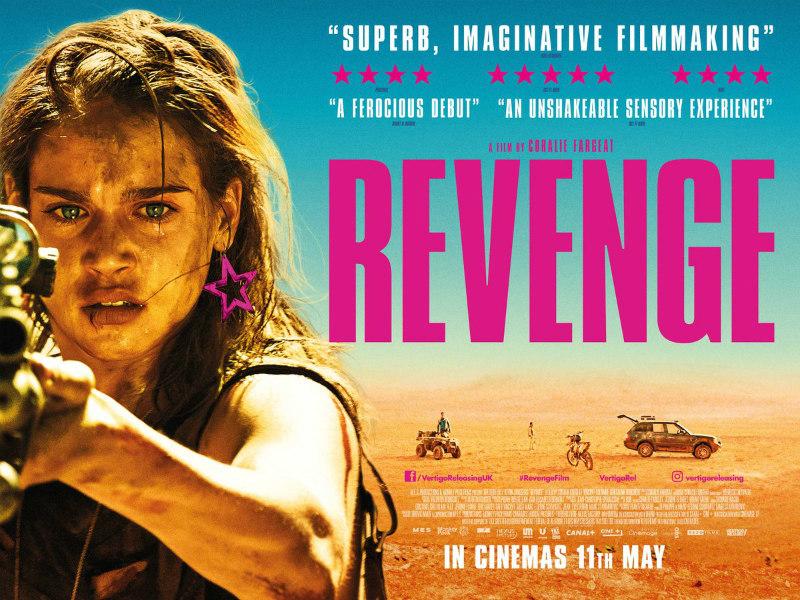 revenge matilda lutz poster