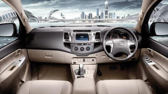 Spesifikasi dan Kelebihan Toyota Fortuner 2016