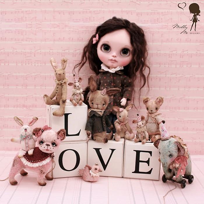 Blythe, blythe custom, blythe doll, blythe outfit, crocheting, custom blythe, knitting, blythe clothes, blythe shoes, blythe dress, Pure Neemo S body, ブライス, カスタムブライス, 人形,