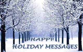 holiday messages sample