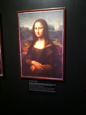 The Mona Lisa as it appears today