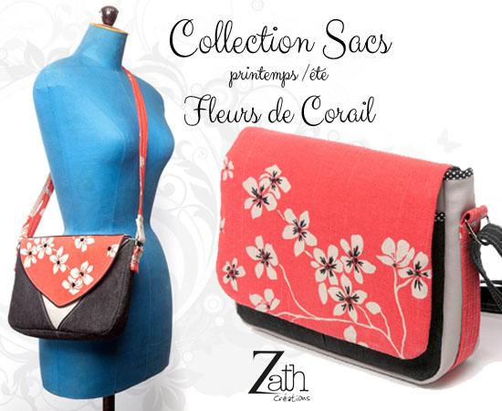Collection fleurs de corail zath créations
