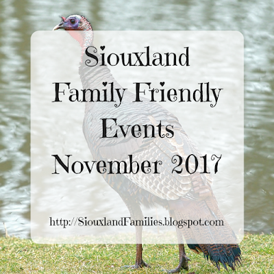 november 2017 sioux city events for kids and families