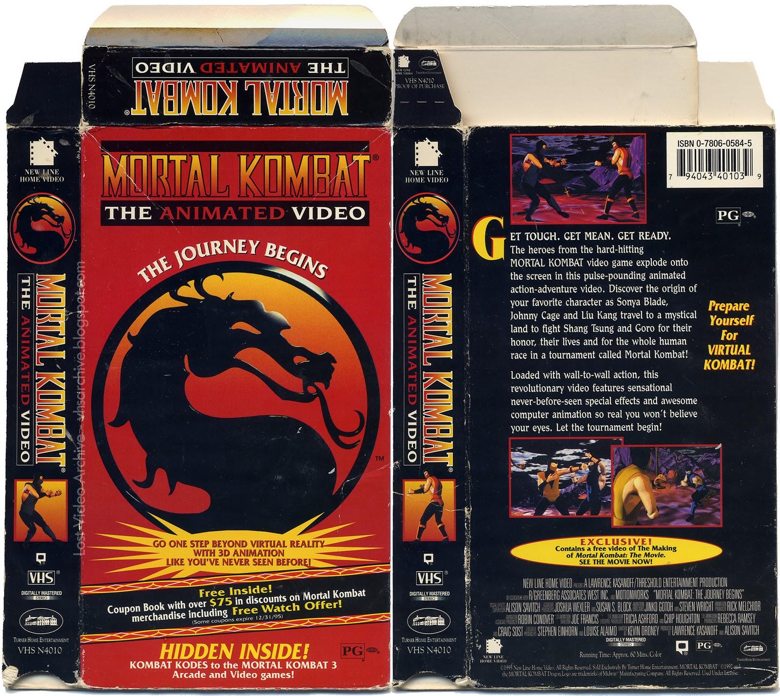 Perdu Archive vidéo Mortal Kombat Animation Vidéo-5597