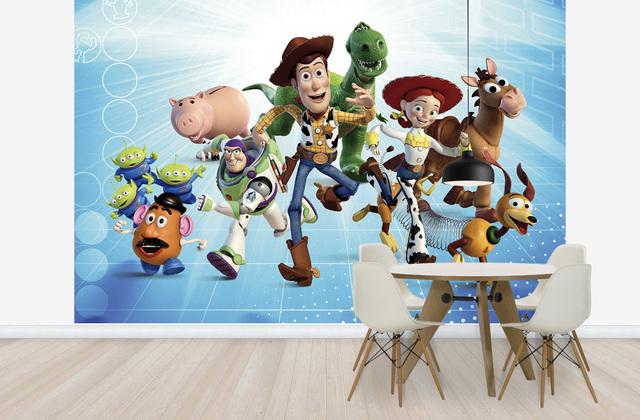 Lastenhuoneen Tapetit Halvalla Toy Story