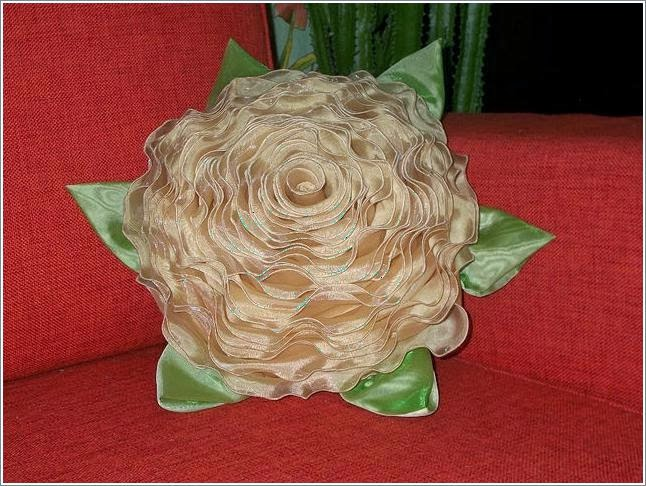 Подушка Цветок. Мастер-класс | Flower pillow