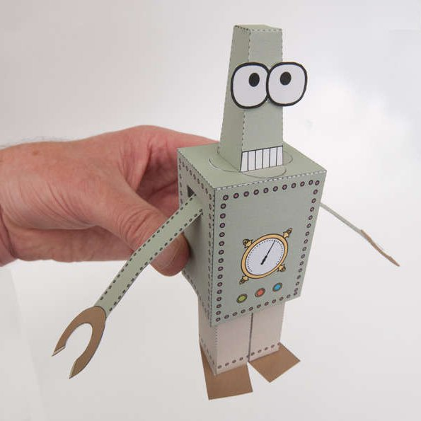 Paper Automata Robot