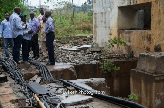 Photos: Fashola inspects Thermal Power Station Oji- River, Enugu State