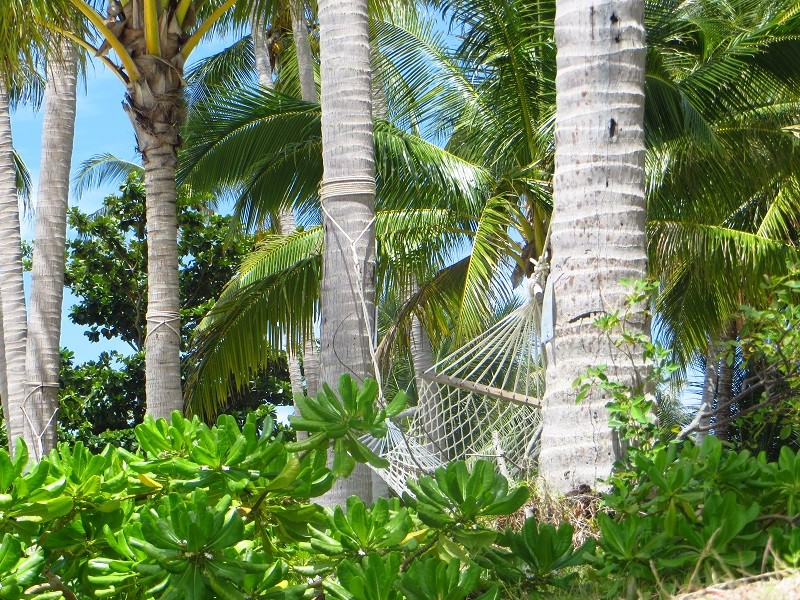 Гамак на пляже Бантай