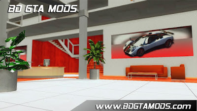 TDU2 Italian Showroom para GTA San Andreas