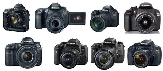 Daftar Harga Kamera Canon EOS DSLR - body saja