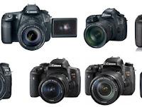 Daftar Harga Kamera Canon EOS DSLR - body saja, Murah, Terbaru dan Terlengkap  2017