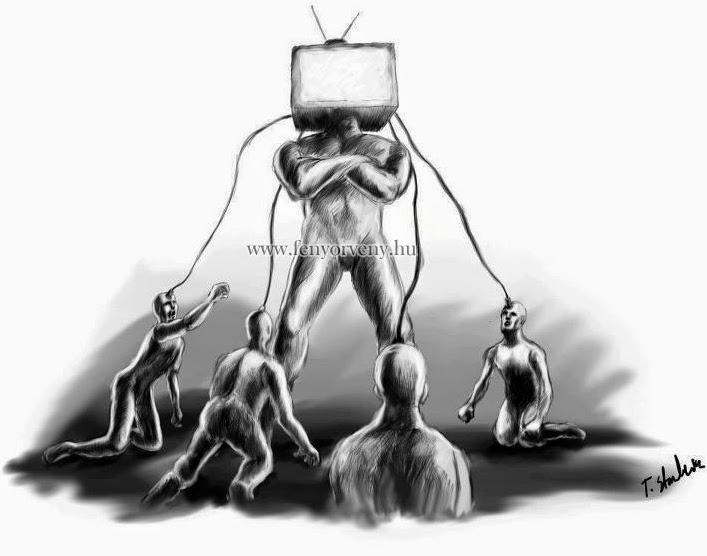 A TV agyromboló hatásairól