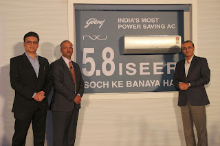 Godrej's new 'Soch' gives India its most power saving green inverter AC with 5.8 ISEER