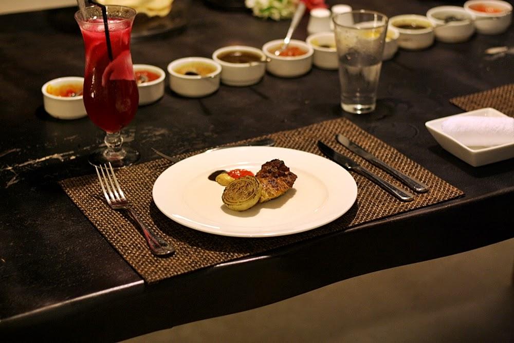 BBQ IN VILLA AT MONTIGO RESORT ON DELUXSHIONIST TRAVEL BATAM INDONESIA