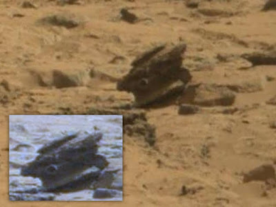 Is this a tank on Mars or a gun.