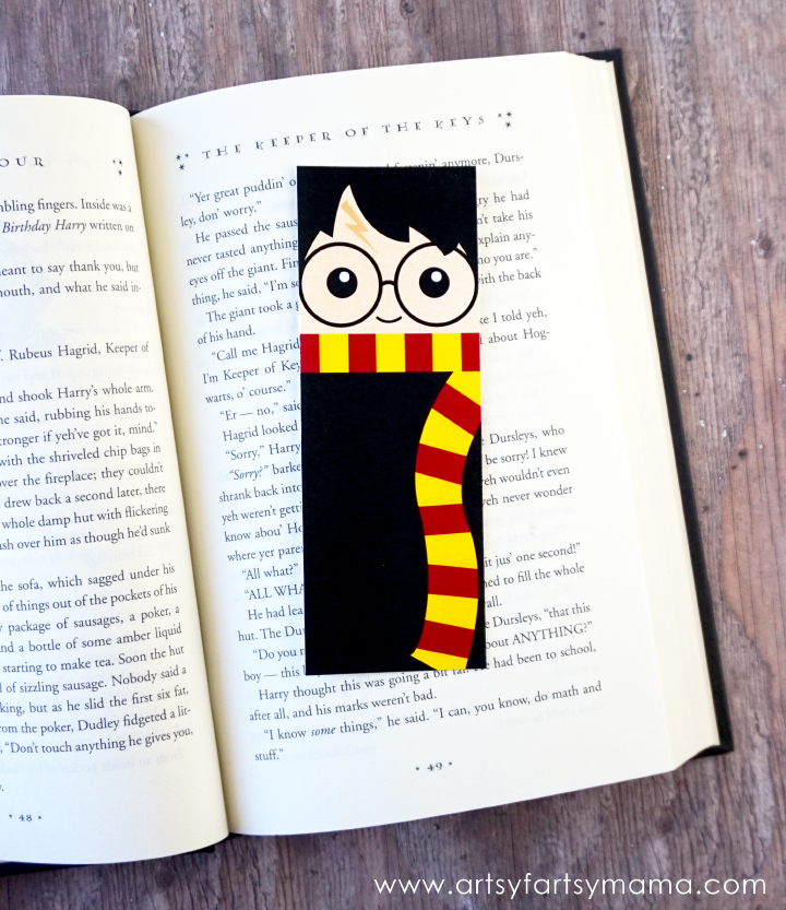 Free Printable Harry Potter Bookmarks | artsy-fartsy mama