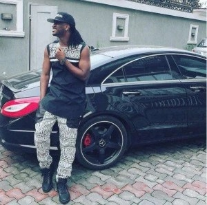 PAUL OKOYE SHOWS OFF HIS SLEEK MERCEDES BENZ IN NEW PHOTO