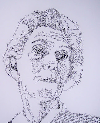 Handwritten Faces - Portraits (11) 10