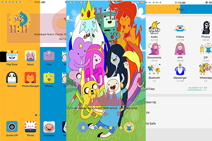 Oppo Theme: Oppo Adventure Time Theme