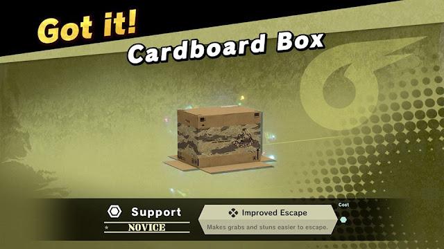 Super Smash Bros. Ultimate cardboard box spirit