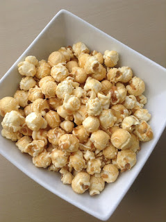 butterkist coconut and raspberry popcorn