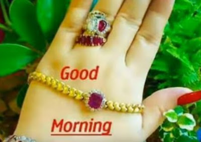 Good morning images for whatsapp - beautiful hand