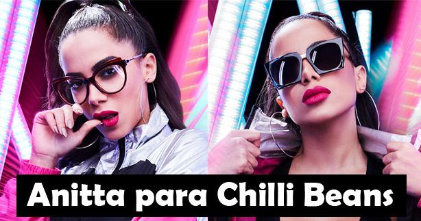 98b8deba66308 A Chilli Beans acaba de lançar uma coleção em parceria com a cantora  Anitta, são vários modelos diferentes que chegarão nas lojas semanalmente.
