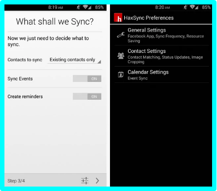 Sync Facebook With Contacts