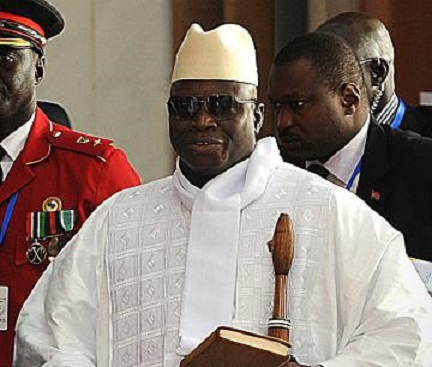 Gambia president Yahya Jammeh refuse to step down because of fear
