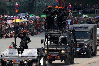 Tiga Kejanggalan di Balik Kedatangan Tentara AS di Lokasi HUT TNI