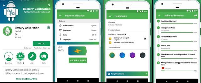 2 Terbaik!! Cara kalibrasi baterai hp android manual dan menggunakan aplikasi.