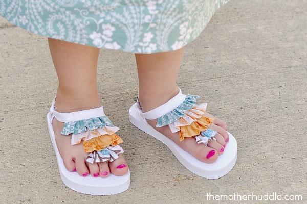 Recicla Decorar Flip Niñas Unas Flop Sandalias InventaCómo Para Y76gfby