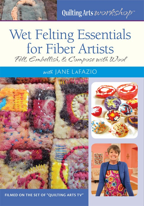 Wet Felting Essentials Video