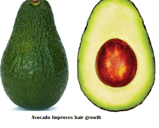 Amazing health benefits of Avocado Butter Fruit Makhanphal - Avocado Improves hair growth