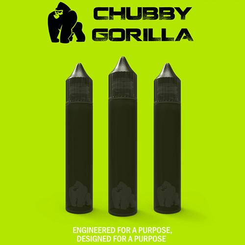 100 BLACK 30ML CHUBBY GORILLA UNICORN BOTTLES – $32.84 + USA FS