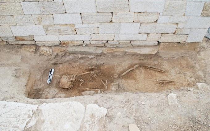 Βρέθηκε σκελετός εργάτη από την αρχαιότητα στο Δεσποτικό.