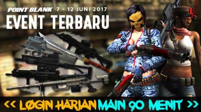 Event PB Garena 7 Juni 2017 Menyambut Raid Boss