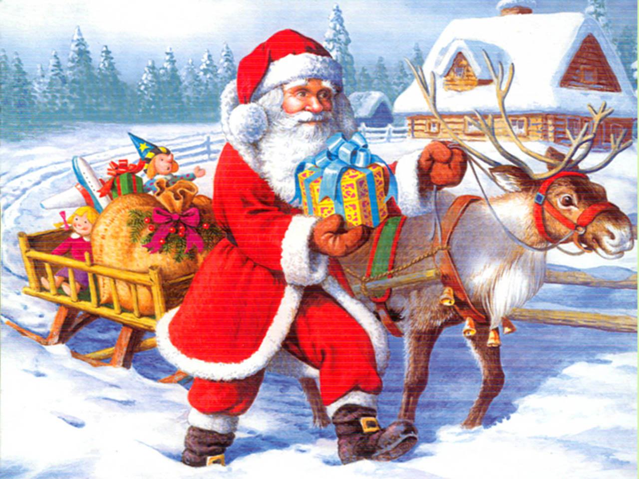 25+ Excellent Pictures Of Santa Claus   Picsoi