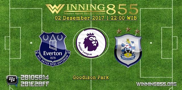 Prediksi Akurat Everton vs Huddersfield Town 02 Desember 2017