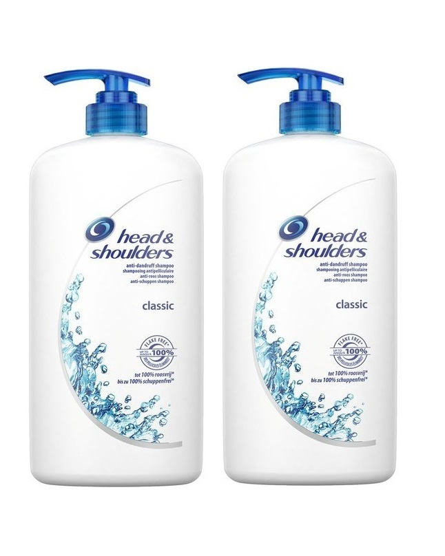 Pack Of 2 - Head And Shoulder Classic Clean Shampoo 700 ml