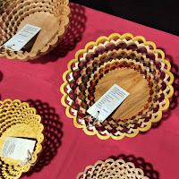Boston Christmas Festival_New England Fall Events_Daves Woodshop scroll saw baskets