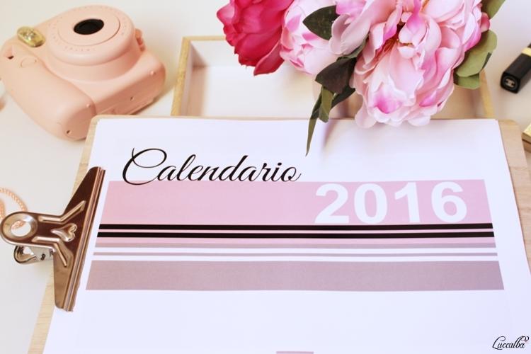 Calendario 2016 e Intax Mini8